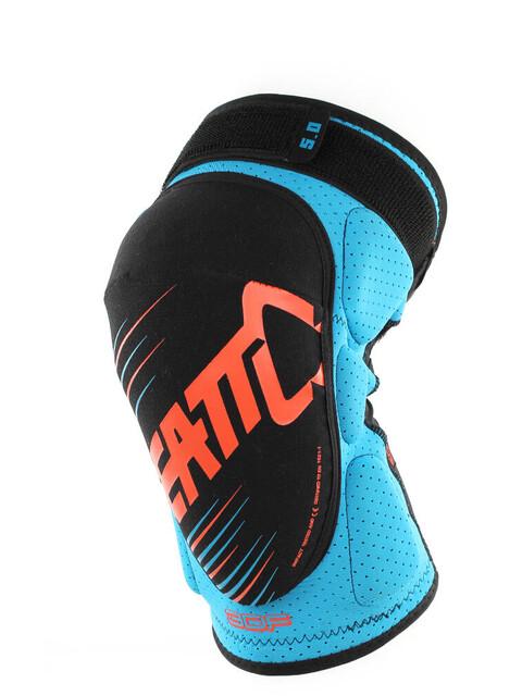 Leatt Brace 3DF 5.0 Knee Guard blue/orange